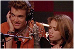 Tyler Hilton as 'Chris' & Bethany Joy Lenz as 'Haley'